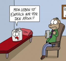 Cartoon Klopapier